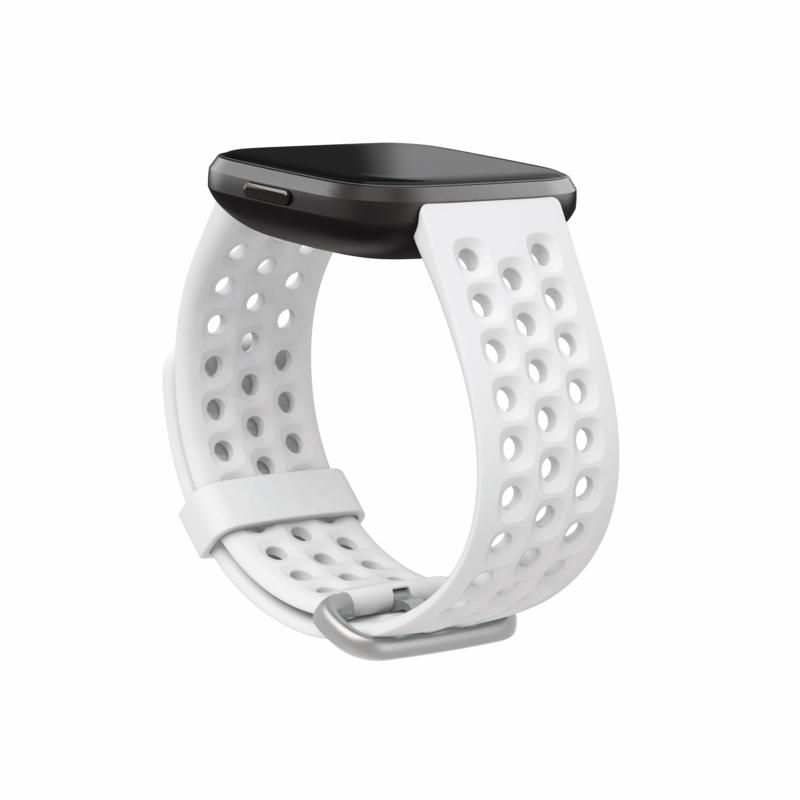 FitBit Versa 2 Sport Accessory Band - White/Large