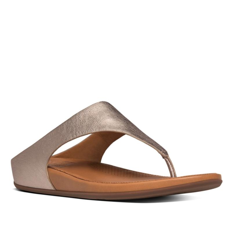 FitFlop Banda Leather Toe-Post Sandal
