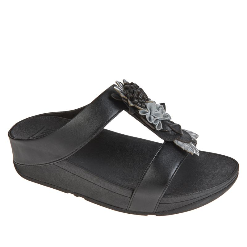 FitFlop Fino Floral Slide Sandal