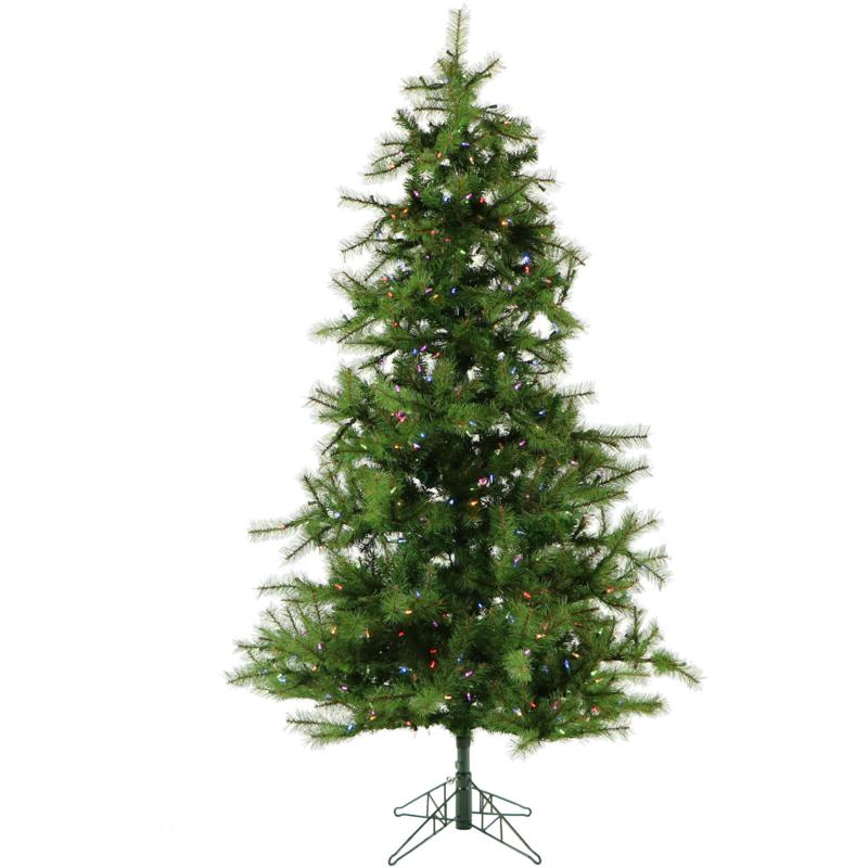 Fraser Hill Farms 7 Southern Peace Pine Tree - Multicolor