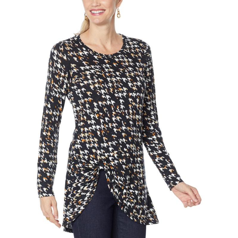 G by Giuliana Twist-Front Tunic