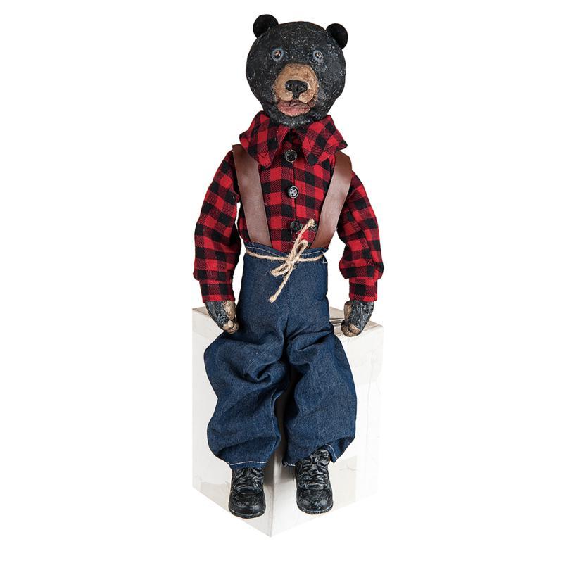 Gallerie II Bear Woodland Doll Figurine