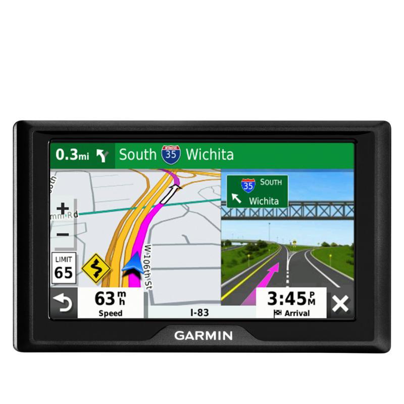 """Garmin Drive 52 5"""" Widescreen GPS w/Map Updates, Traffic & $25 Voucher"""
