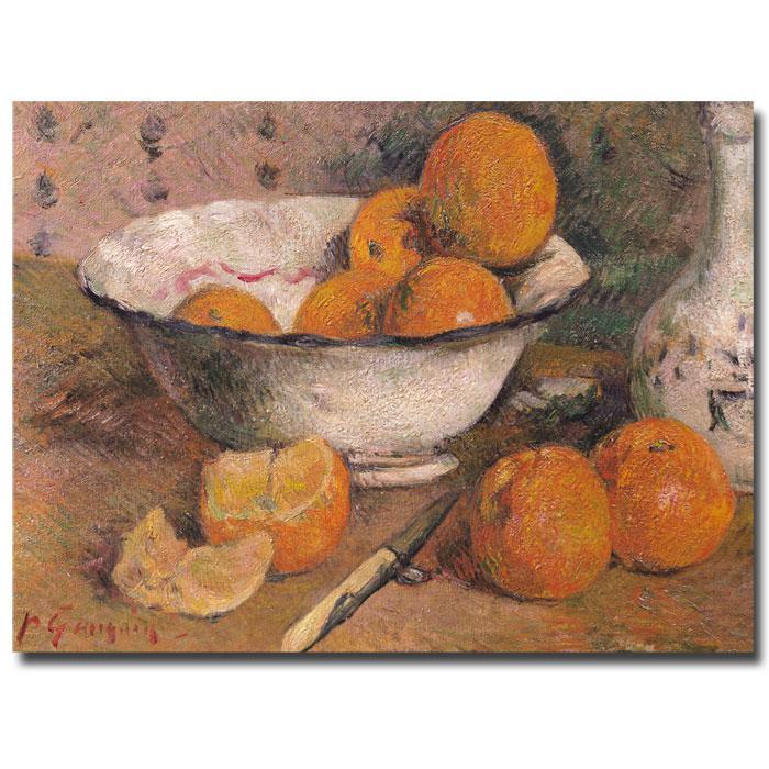 Gauguin 'Still Life with Oranges, 1881' Print - 24x18