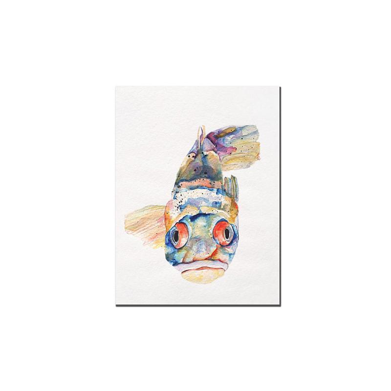 "Giclee Print - Blue Fish 18"" x 24"""