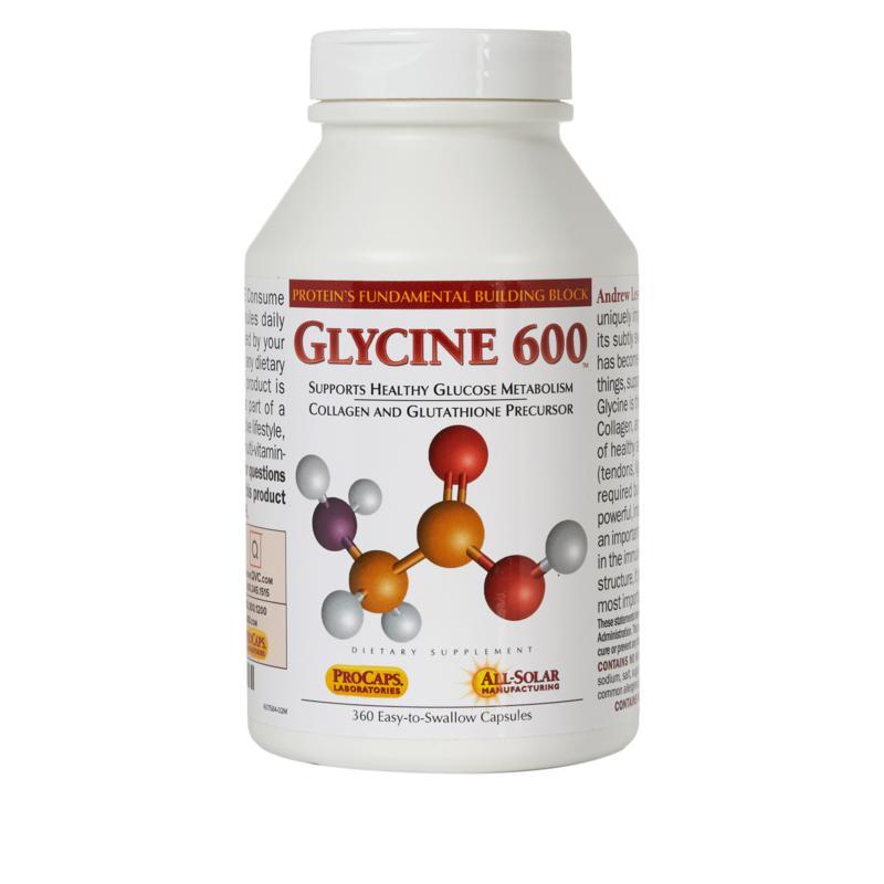 Glycine 600 - 360 Capsules
