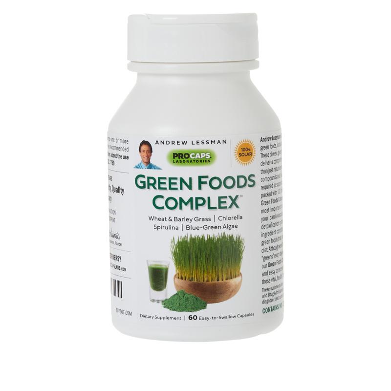 Green Foods Complex - 60 Capsules