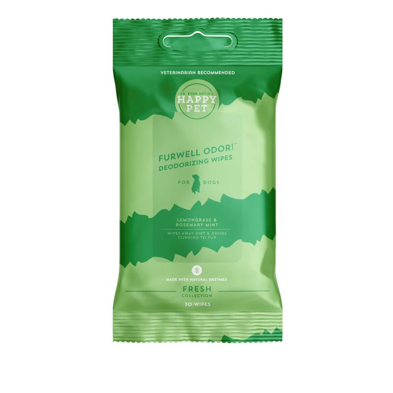 Happy Pet Clean Collection 30-count Deodorizing Wipes