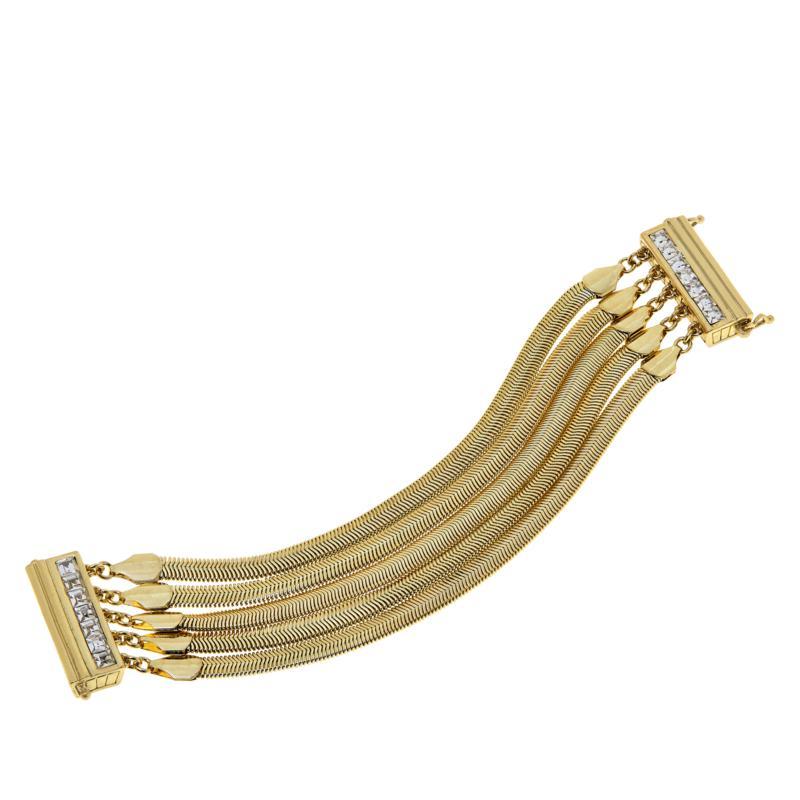 """Heidi Daus """"Snake Charmer"""" Multi-Strand Bracelet"""