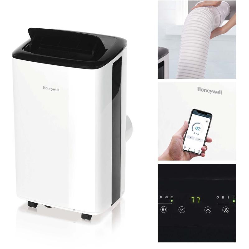 Honeywell 8000 BTU Smart Wi-Fi Portable Air Conditioner & Dehumidifier