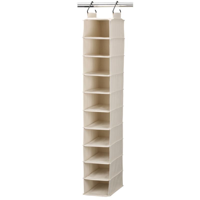 Household Essentials Cedarline 10-Shelf Shoe Organizer