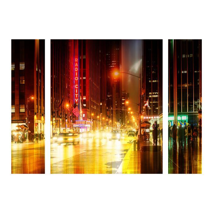 "Hugonnard ""Urban Stretch NYC IV"" Panel Art - 24"" x 32"""