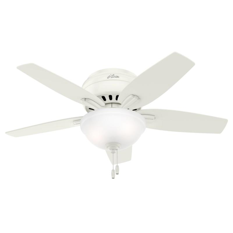 """Hunter 42"""" Newsome  Ceiling Fan with LED Light Kit and Pull Chain"""