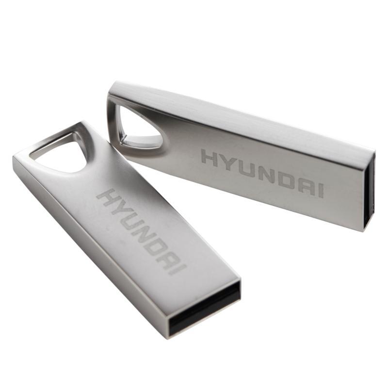 Hyundai 2-pack of 16GB Deluxe Metal USB Flash Drives
