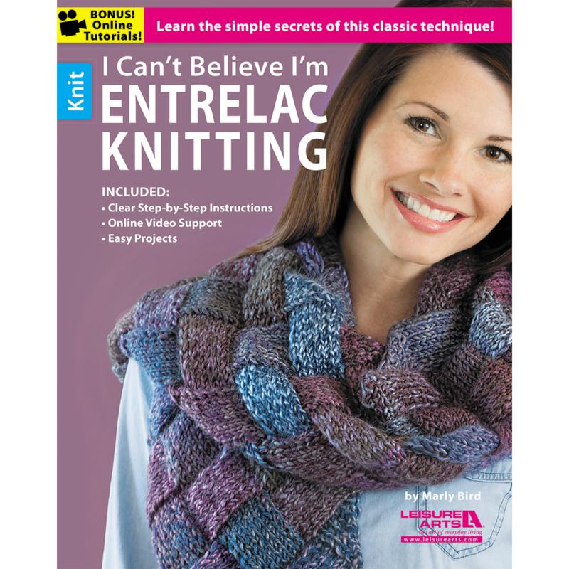 """""""I Can't Believe I'm Entrelac Knitting"""" Book"""