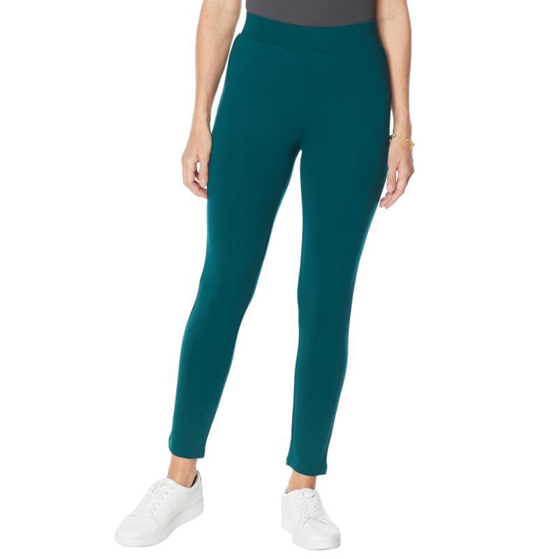 IMAN Global Chic 360 Slim Ponte Skinny Pant