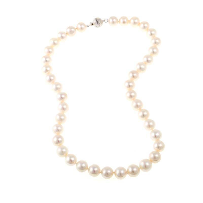 """Imperial Pearls 10.5-11.5mm Cultured Freshwater Pearl 18"""" Necklace"""