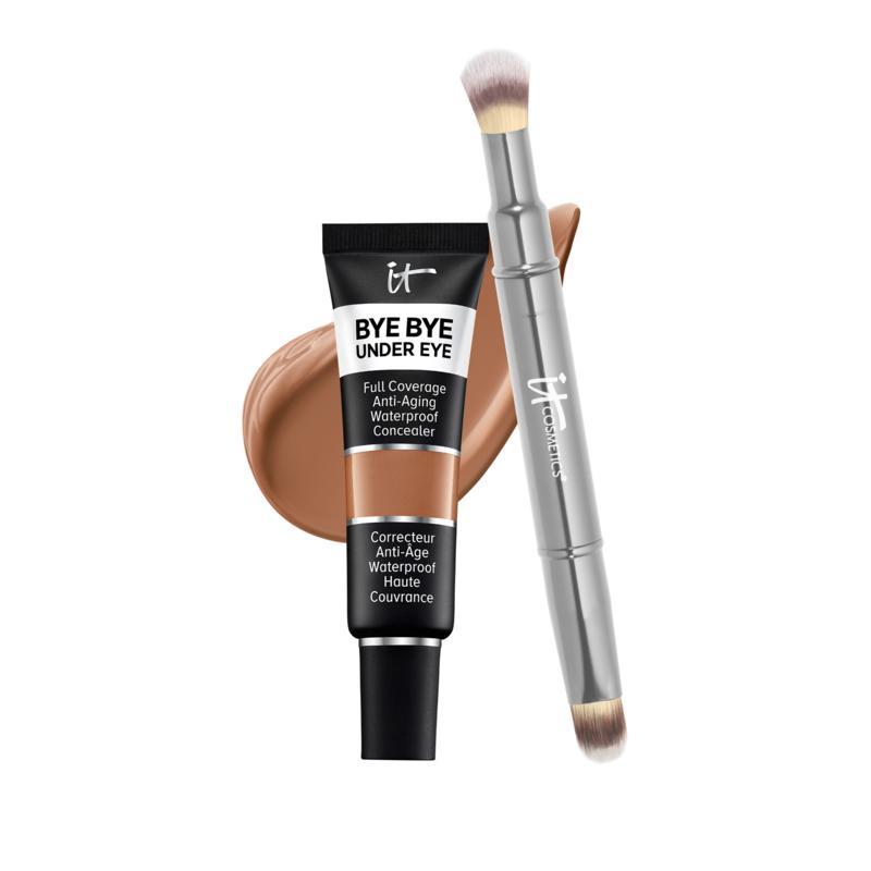 IT Cosmetics 42.5 Warm Deep Bye Bye Under Eye Concealer with Collagen