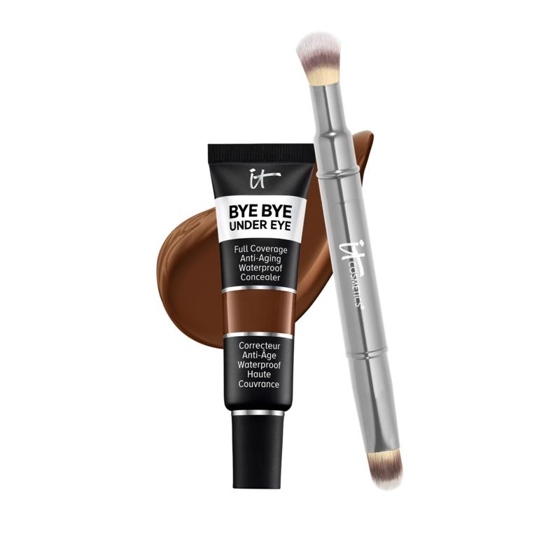 IT Cosmetics 44 Deep Natural Bye Bye Under Eye Concealer with Collagen