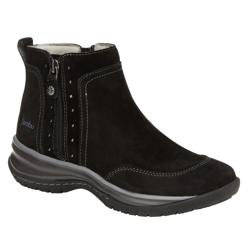 Jambu Originals Camryn Leather Ankle Bootie