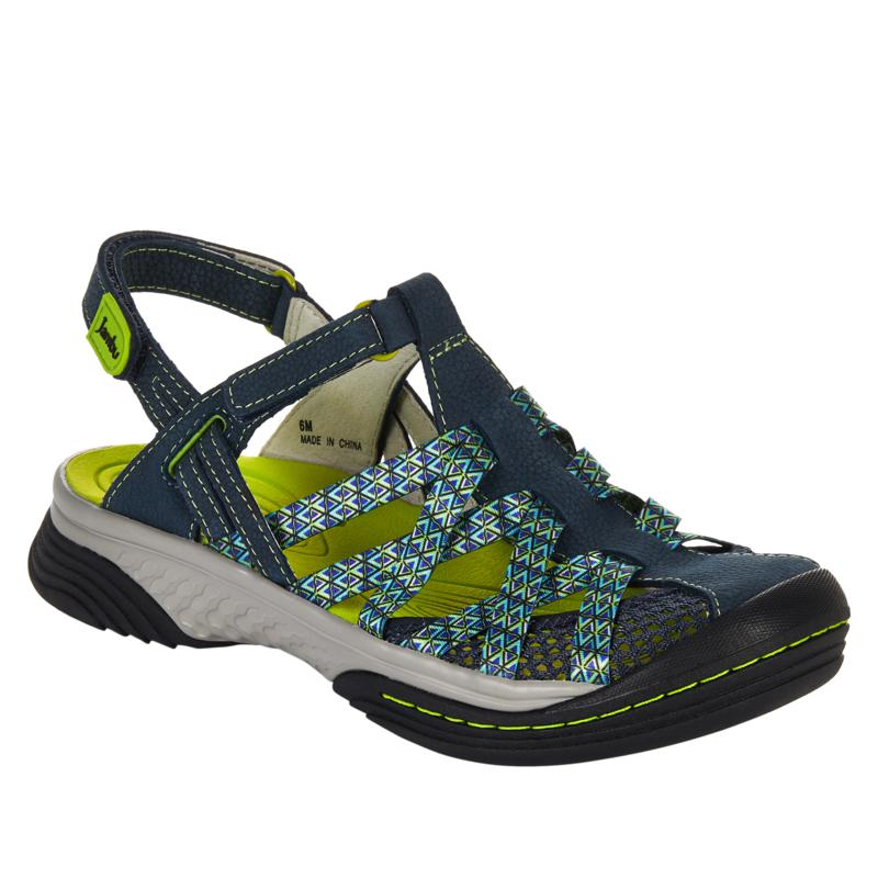 Jambu Originals Eclipse All Terrain Leather and Mesh Sport Sandal