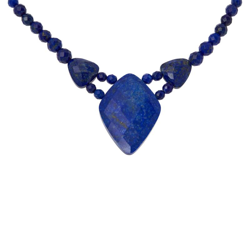 Jay King Sterling Silver Lapis Necklace