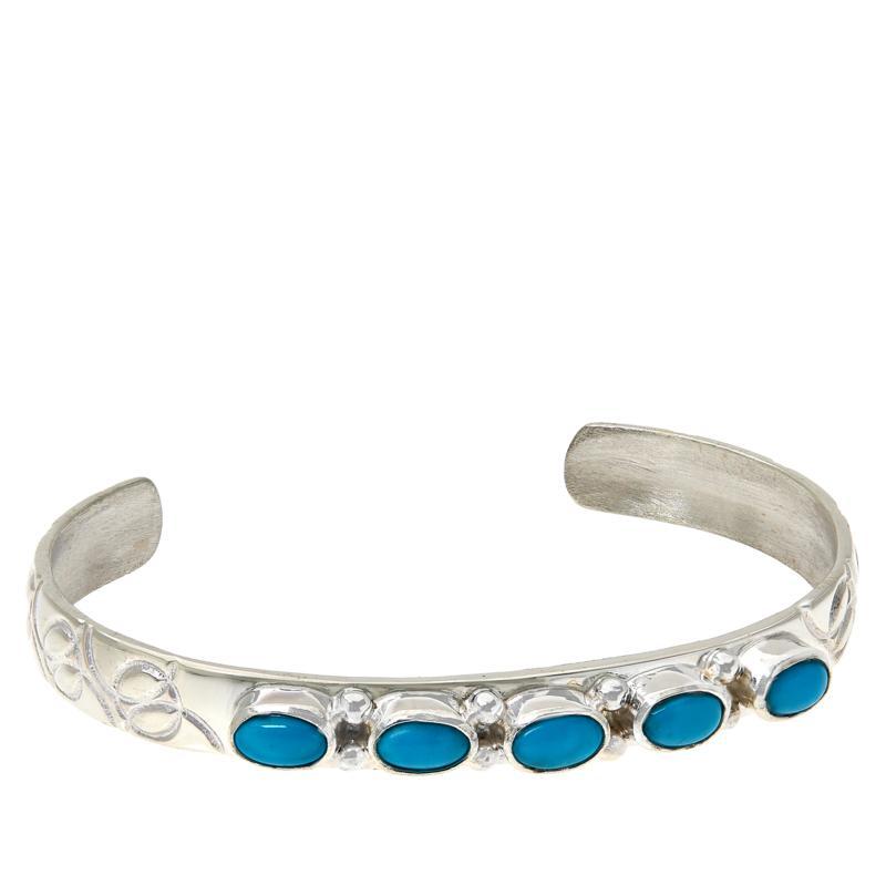 Jay King Sterling Silver Sleeping Beauty Child's Cuff Bracelet