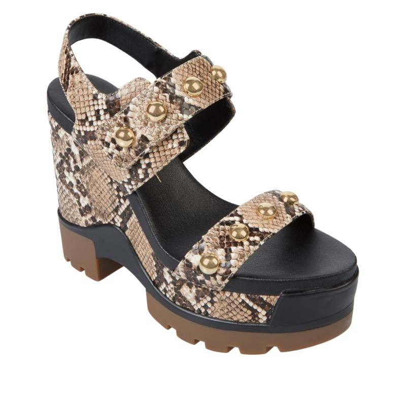 Jessica Simpson Baysie Studded Platform Wedge Sandal