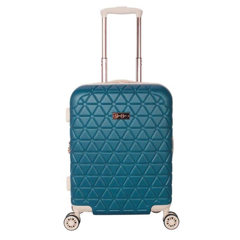 Jessica Simpson Dreamer 20-inch Hardside Luggage - Teal