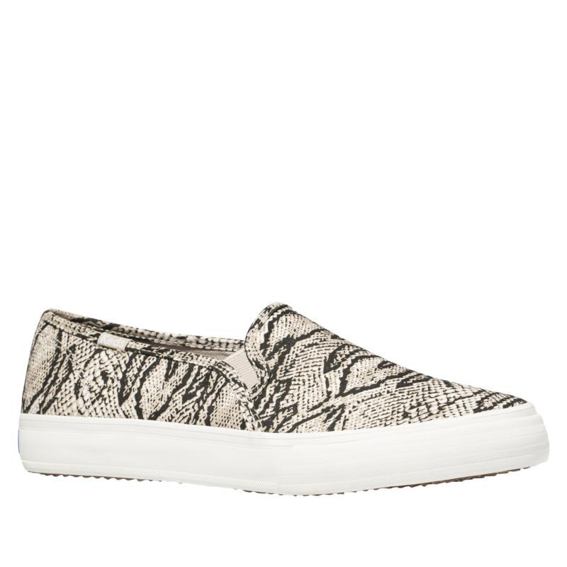 Keds Double Decker Animal Print Slip-On Sneaker