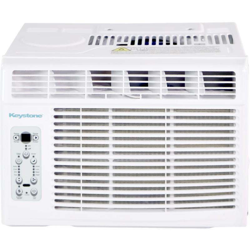 Keystone 5k BTU Window-Mounted Air Conditioner w/ Follow Me Remote