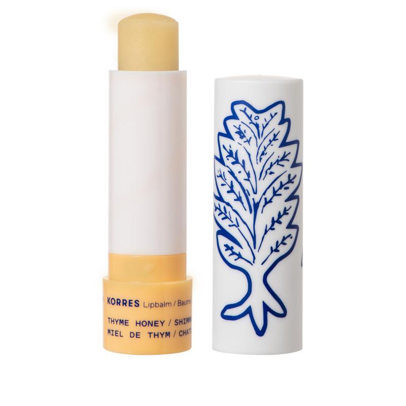 Korres Pure Greek Olive Oil Lip Balm Stick - Thyme Honey