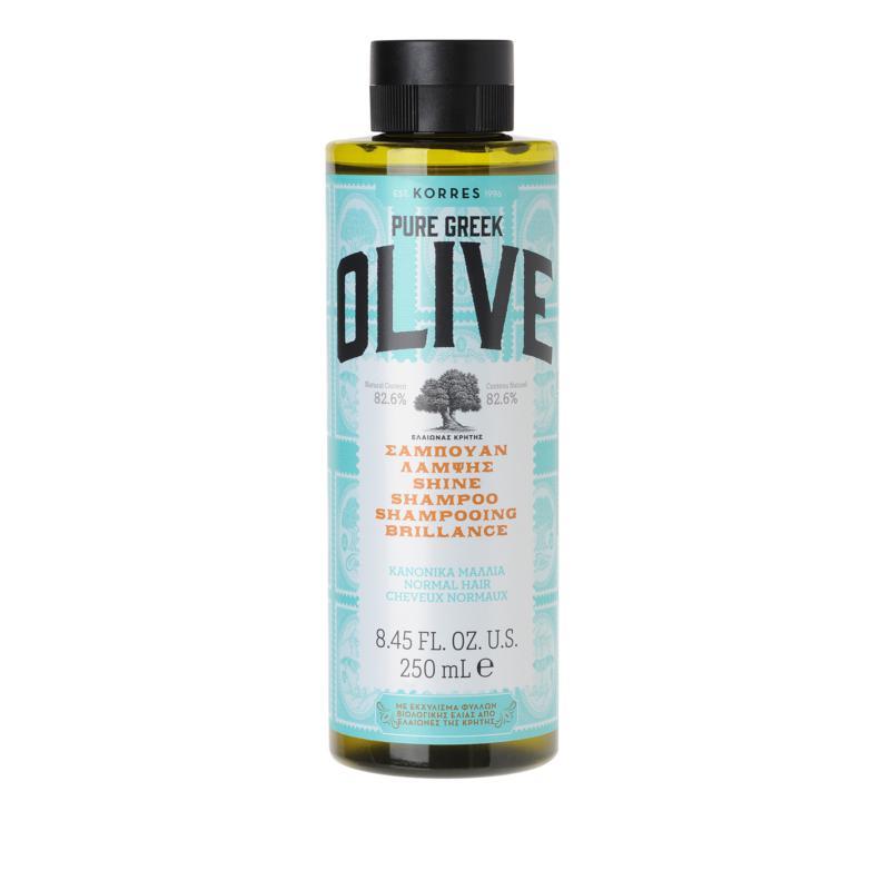 Korres Pure Greek Olive Oil Shine Shampoo - 8.45 fl. oz.