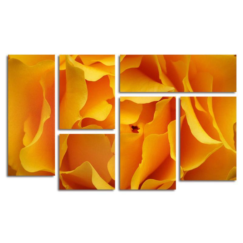 "Kurt Shaffer ""Hypnotic Yellow Rose"" Art Collection"