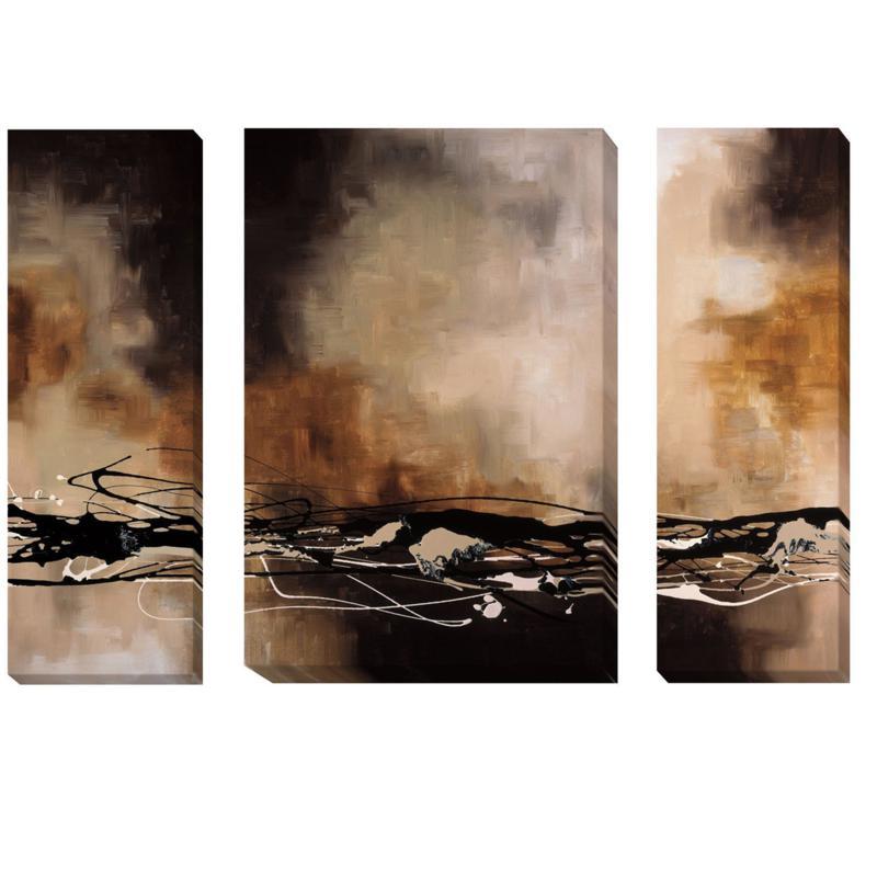Laurie Maitland Tobacco and Chocolate 3pc Art/Medium