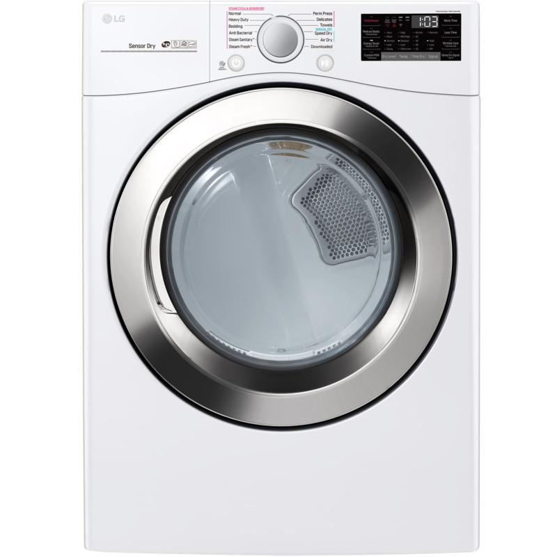 LG 7.4 Cu. Ft. Ultra Large Capacity Electric Dryer - White