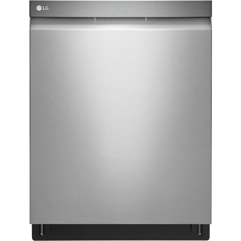 LG Top Control Dishwasher with QuadWash - Stainless Steel