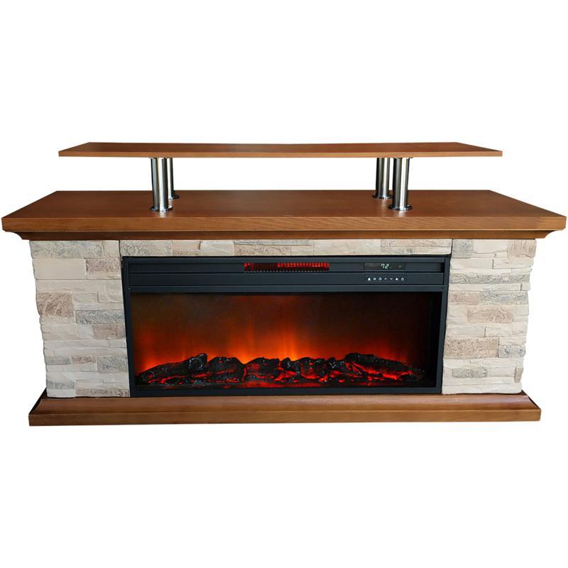 "Lifesmart 60"" Media Fireplace"
