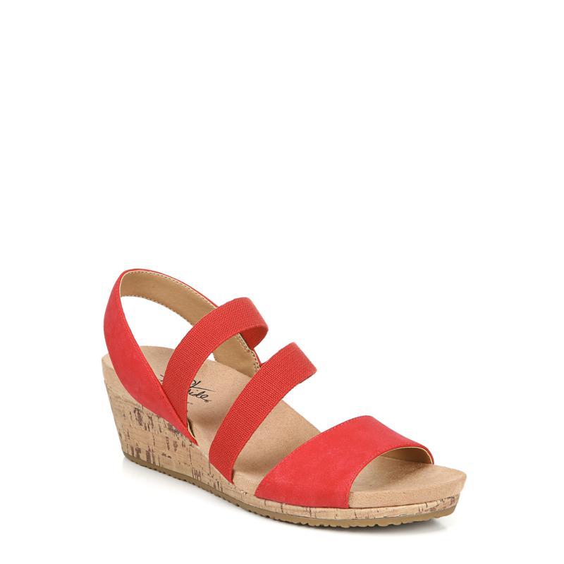LifeStride Marina Slingback Wedge Sandal