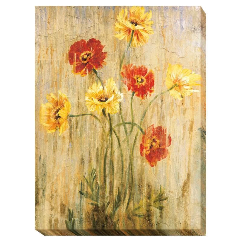 """Liz Jardine """"Poppy Serenade"""" Wall Art - Small"""