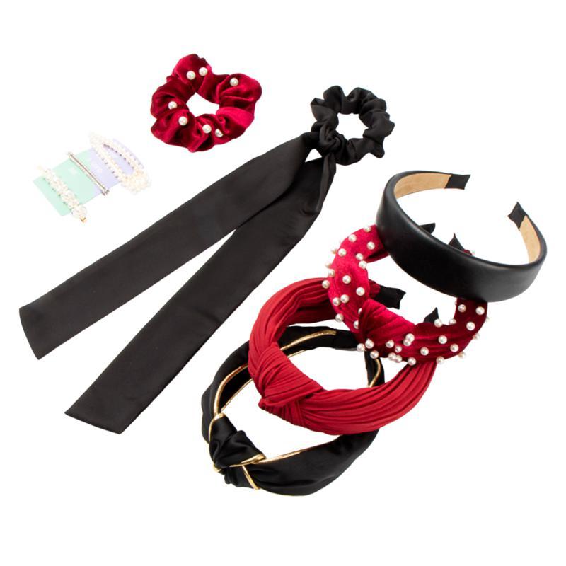 Locks & Mane Red Essentials 10-piece Hair Set