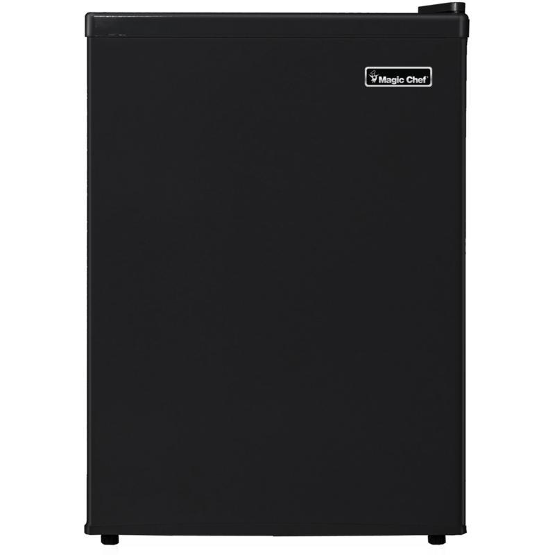 Magic Chef 2.4 Cu. Ft. Mini Refrigerator w/Half-Width Freezer Compa...