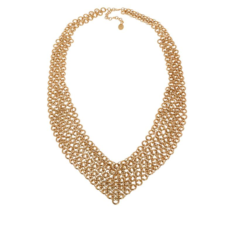 """MarlaWynne 35-1/2"""" Chainmail Necklace"""