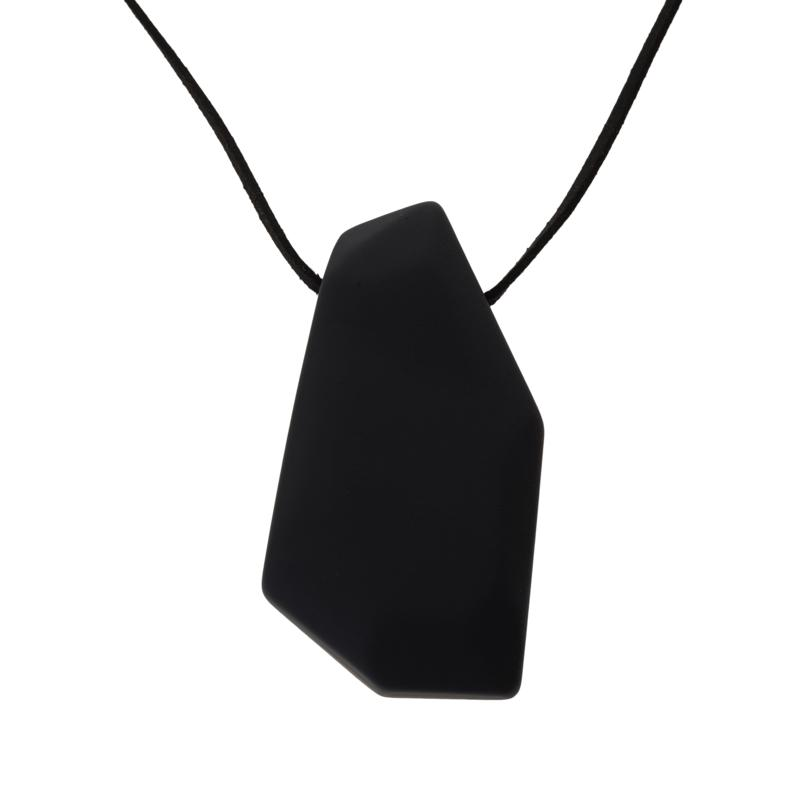 """MarlaWynne 54"""" Abstract Faceted Pendant Necklace"""