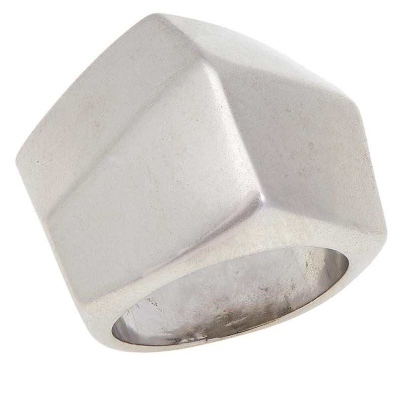 MarlaWynne Abstract Cube Ring