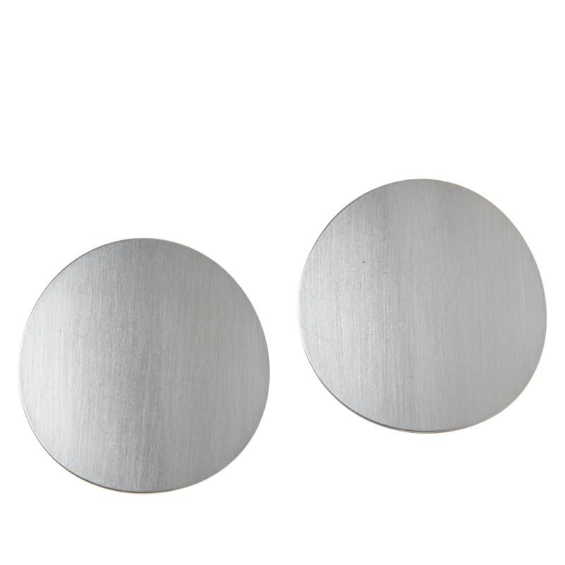 MarlaWynne Exaggerated Circle Disc Earrings