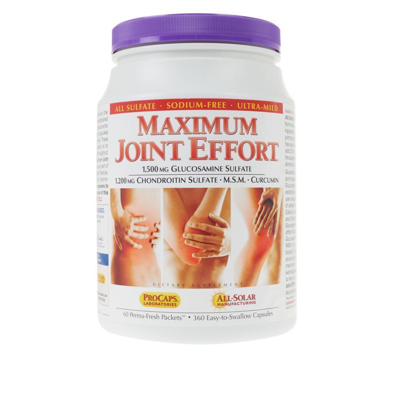 Maximum Joint Effort - 60 packets
