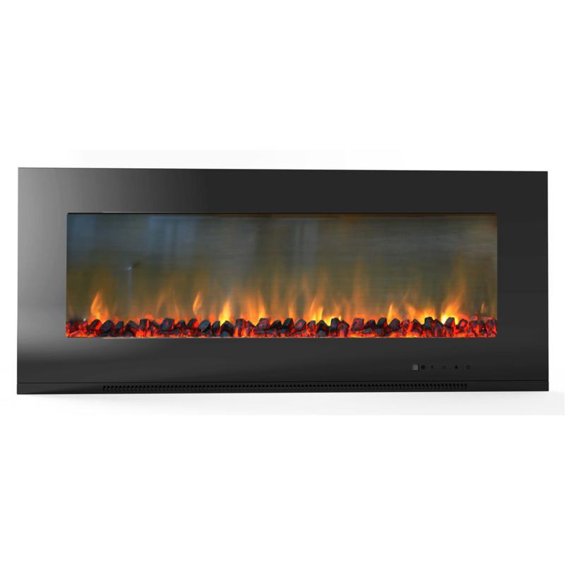 Metropolitan Wall-Mount Electronic Fireplace