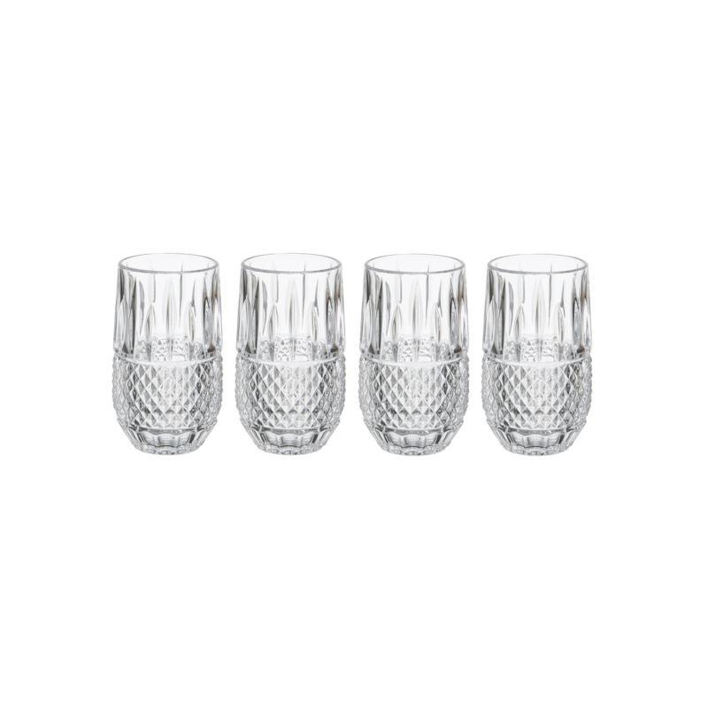 Mikasa Delano Highball Glass Set of 4