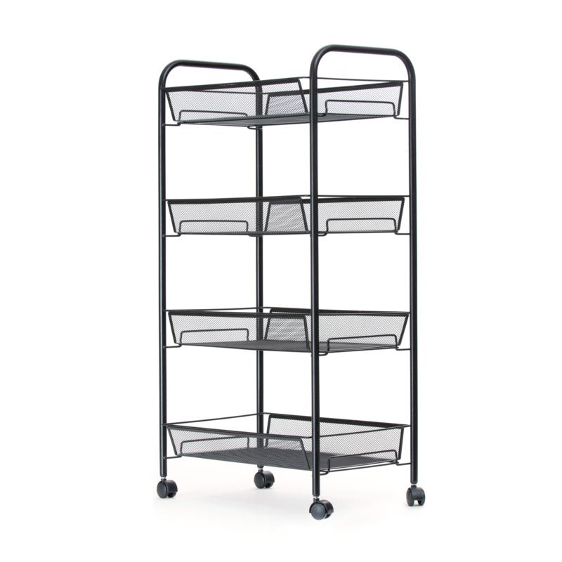 Mind Reader All-Purpose Utility Cart with Wheels
